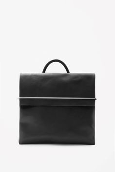 COS - SQUARE LEATHER BACKPACK — Ode to Things