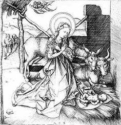15th Century Nativity engraving - A Digital Print Download or a Cross Stitch Pattern - Christmas Holiday Art - Vintage Art $6.00 Christmas Cross, Vintage Christmas, Christmas Holidays, Martin Schongauer, 15th Century, Vintage Art, Cross Stitch Patterns, Digital Prints, Christmas Vacation