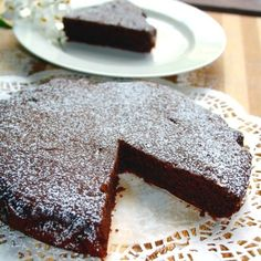 Red Wine Chocolate Cake:  Amazing combination - chocolate and red wine!