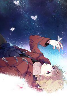 Mutou Tohru. I think he is so adorable. Love love!!  #anime #shiki.
