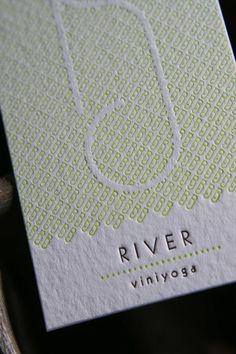 Creative business card for Viniyoga