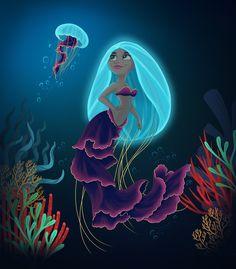 Mermaid, mermaid kisses, mermaid hair, the little mermaid, mermaid artwork Mermaid Artwork, Mermaid Drawings, Black Mermaid, Cute Mermaid, Mermaid Hair, Mermaid Illustration, Mermaid Kisses, Mermaid Pictures, Creature Drawings