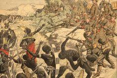 So stellte man sich den Herero-Aufstand in Europa vor