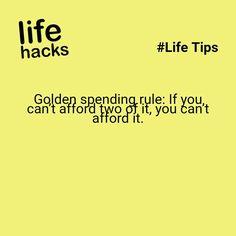 spending hack
