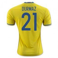 0107272c224 Sverige 2016 Durmaz 21 Hemmatröja Kortärmad #Billiga #fotbollströjor