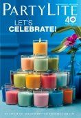 PartyLite Winter Spring 2013 Candle Catalog 12/18/12 - 7/31/12