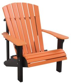 Homemakers Furniture: Deluxe Adirondack Chair: Amish Outdoors: Outdoor: Patio Furniture