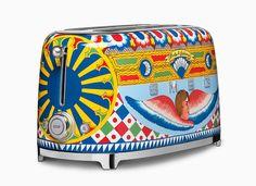 Smeg kitchen appliances get vibrant remix by Dolce & Gabbana - Curbed
