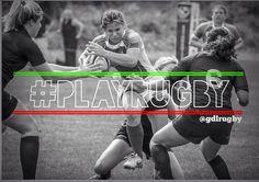 Female rugby #rugbygirl #playrugby