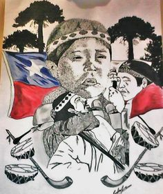 Mapuche Chile Expressions, Artist Painting, South America, Countries, Culture, Tattoos, Collection, Women, Maori