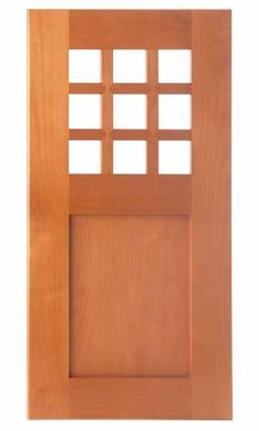 Style F Wood Frame for Glass Option
