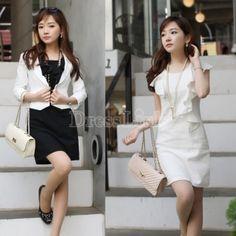 Korea Fashion Women's Sleeveless Boat Neck Flouncing Slim Vest Mini Dress
