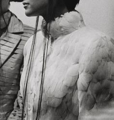 Givenchy by Alexander McQueen photographed by Anne Deniau, taken from the book Love Looks Not With the Eyes