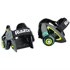 Razor Jett's Heel Wheels Roller Skate Foot Gliders Black Age 8 Up Spark Pads Set 12 Year Old Boy, Outdoor Toys, Outdoor Games, Outdoor Play, Roller Skating, Cleaning Wipes, Skateboard, Best Gifts, Top Gifts