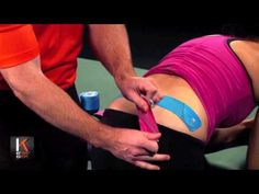 KT Tape Europe SI Joint Taping - YouTube
