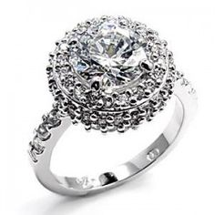 Kennedi's Round Cut Halo Engagement Ring