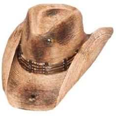 Weather it is made of black felt or if the burnt straw look is your style. Mens  Cowboy HatsWestern HatsCowgirl ... 312f66ed5589