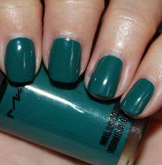jewel tone nails.