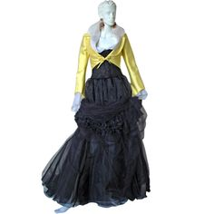 1992 Christian Lacroix Haute Couture  Runway Ensemble - Collectors | From a collection of rare vintage evening dresses at http://www.1stdibs.com/fashion/clothing/evening-dresses/