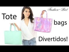 DIY Haz un Bolso para el regreso a clases (Tote Bag) | Fashion Riot. Link download: http://www.getlinkyoutube.com/watch?v=cMfBjHJz5Kk