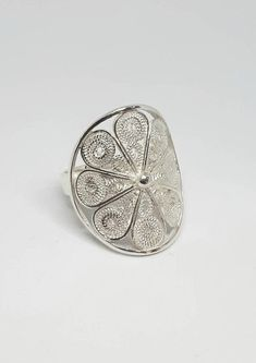 This item is unavailable Filigree Jewelry, Sterling Silver Filigree, Sterling Silver Cuff Bracelet, Handmade Sterling Silver, Unique Silver Rings, Ankle Jewelry, Cross Earrings, Jewelry Gifts, Jewelery