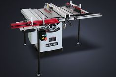 HW110WS WORKSTATION with Sliding Table and Router Table