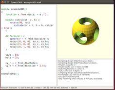 Se você precisa de um programa para a criação de objetos 3D no Linux instale o OpenSCAD em seus sistema.  OpenSCAD é um software livre CAD de código aberto (usa a GPL versão 2) específico para a criação de modelos 3D sólidos utilizados principalmente para a criação de peças mecânicas e não para a criação de animações etc como acontece por exemplo no Blender. Assim ele pode ser o aplicativo que você está procurando quando você está planejando criar modelos 3D de peças de máquinas mas com…