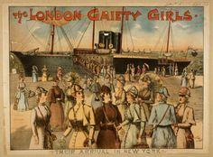 London Girls Retro Harbor