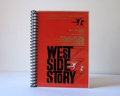 West Side Story  Spiral Notebook 4 x 6 by Ciaffi on Etsy, $12.50