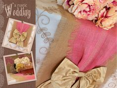 Burlap Table Runners for Wedding | Rustic Wedding with Fabric.com: Two-Tone Burlap Table Runner ...
