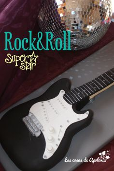 Tarta guitarra / Guitar Cake and Rock'n'roll ¡¡¡¡¡
