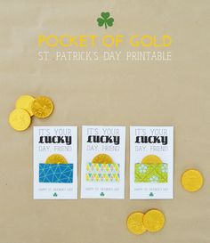 sarah m style: freebies: it's your lucky day, friend + free printable.