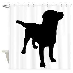 Marvelous Lab Shower Curtain | Labrador Quotes And Labs | Pinterest | Curtains, Shower  Curtains And Showers