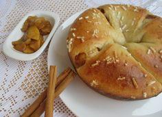 Dolce brioche con marmellata e mele, ricetta lievitata