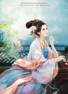 Chinese Artist Phoenixlu - like the colors