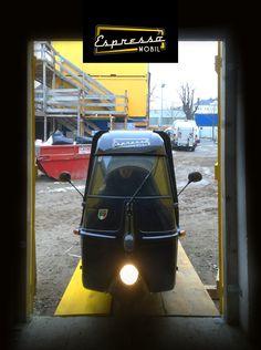 Baustellenfeier in St. Pölten - Espressomobil ist auch dabei :)