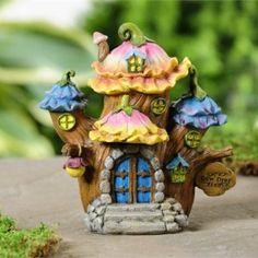 fairytale woodland house