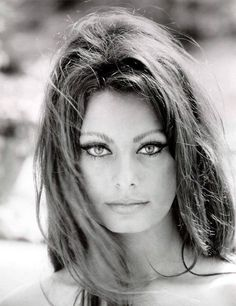 sophia loren ~ beautiful eyes and notice the eyebrows girls! Thai is not Sophia Loren ! Looks just like her, she is a model ! Sophia Loren, Sophia Sophia, Hollywood Glamour, Hollywood Stars, Old Hollywood, Hollywood Actresses, Classic Hollywood, Most Beautiful Women, Beautiful People