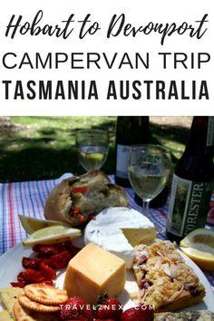 Hobart to Devonport Campervan Road Trip in Tasmania. #australia #hobart #devonport #tasmania #campervan #roadtrip #nationalpark