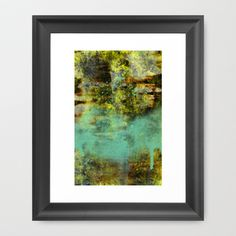 The Night Turns To Rust Framed Art Print by Timothy Davis - $37.00