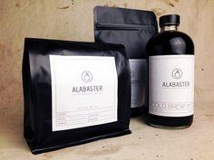 Alabaster Coffee Roaster + Tea Co. — The Dieline