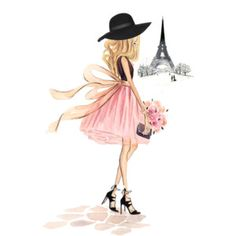 Custom Fashion Illustration -Watercolor Portrait, Fashion Sketch Lifestyle Interior Design Painting Artwork Watercolour Portrait by Reani Girly Drawings, Art Drawings Sketches, Cute Cartoon Girl, Cartoon Art, Fashion Design Drawings, Fashion Sketches, Illustration Mode, Illustrations, Paris Kunst