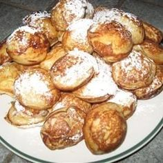 """""""Light fluffy clouds (covered in sugar and maple syrup)! Fall Recipes, Holiday Recipes, Holiday Foods, Poffertjes Recipe, British Baking, Breakfast Recipes, Brunch, Clouds"""