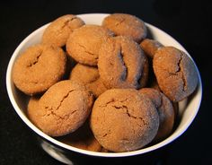 Ginger Molasses Cookies   Challah with Dinner - Recipes for Every Meal of the Week