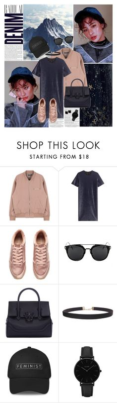 """""""Give my love to a shooting star"""" by angiielf ❤ liked on Polyvore featuring Alima, Jil Sander, H&M, Versace, Humble Chic, CLUSE and Kattri"""
