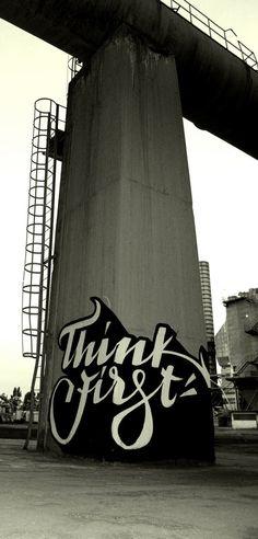 Brilliant typographic grafiti