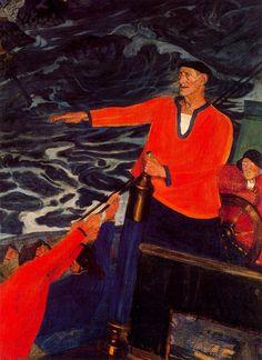 Ramon ZUBIAURRE- 1924 El marinero Santi Handia. Museo Bellas Artes Bilbao. Basque Country, spain