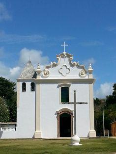 Igreja  de Nossa Senhora da Conceição Em Santa Cruz de Cabralia - Bahia Brasil