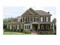 Country House Plan with 4691 Square Feet and 5 Bedrooms(s) from Dream Home Source | House Plan Code DHSW68383