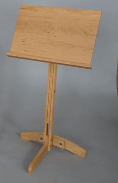 Casco Handcrafted Wooden Music Stand